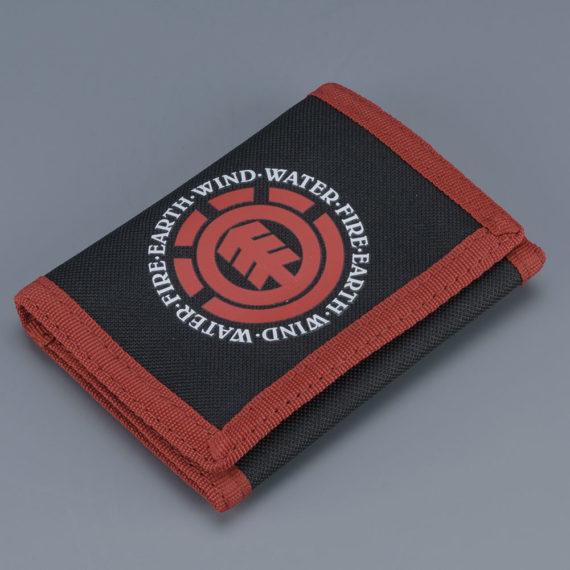 Element Skateboards Elemental Wallet Black Red
