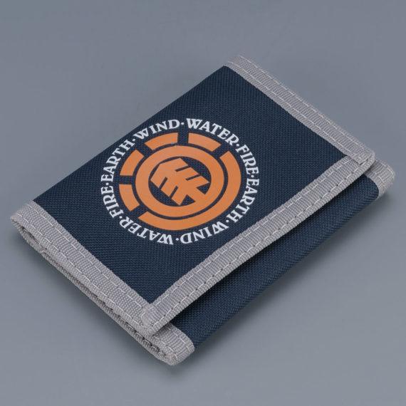 Element Skateboards Elemental Wallet Navy Grey