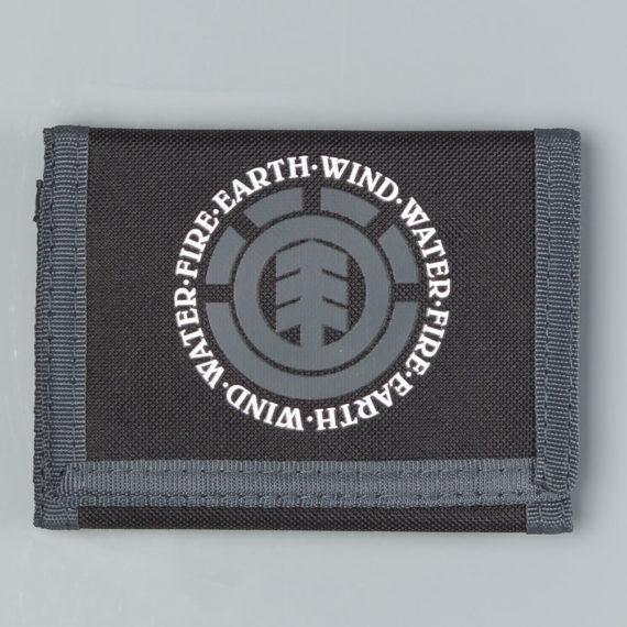 Element Skateboards Elemental Wallet Black