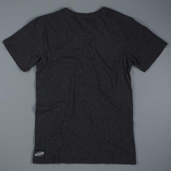 Santa Cruz Pray Skeleton T-Shirt Charcoal