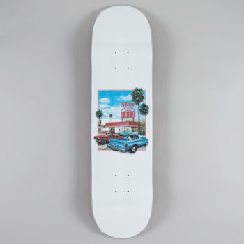 "Skateboard Cafe Drive Thru Deck 8.0"" White"