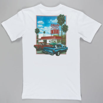 Skateboard Cafe Drive Thru T-shirt White