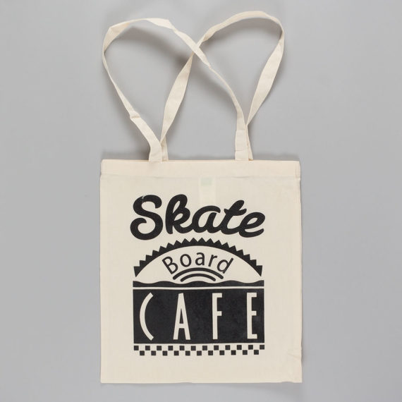 Skateboard Cafe Dinner Tote Bag Natural