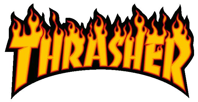 36c341801852 Thrasher Magazine Outline Logo T-Shirt Red at Skate Pharm