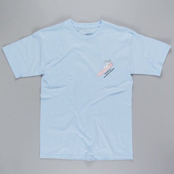 Becky Factory Recreational Specialist T-Shirt Powder Blue