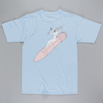 Becky Factory Recreational Specialist T-Shirt Powder Blue