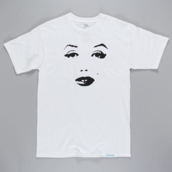 Diamond x Marilyn Monroe That Look T-Shirt White