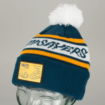 Doomsayers DSC Pom Beanie Navy Yellow