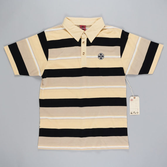 Independent Embroidered Cross Polo Shirt
