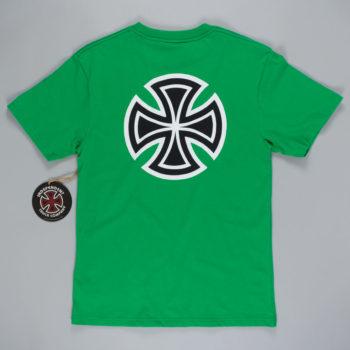 Independent Bar Cross T-Shirt Green