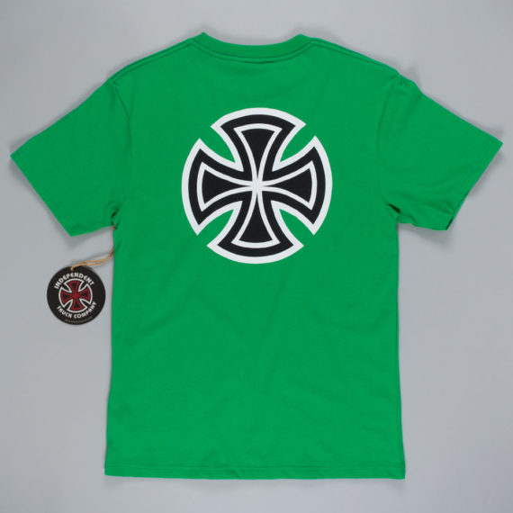 Independent Bar Cross T-Shirt Green