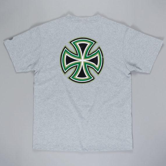Independent Bar Cross T-Shirt Grey