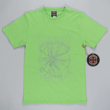 Independent Arachnid T-Shirt Green
