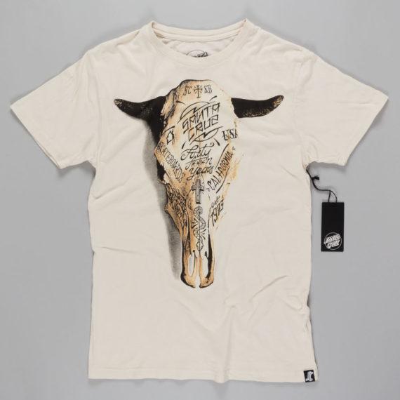 Santa Cruz Death Valley T-Shirt Vintage White