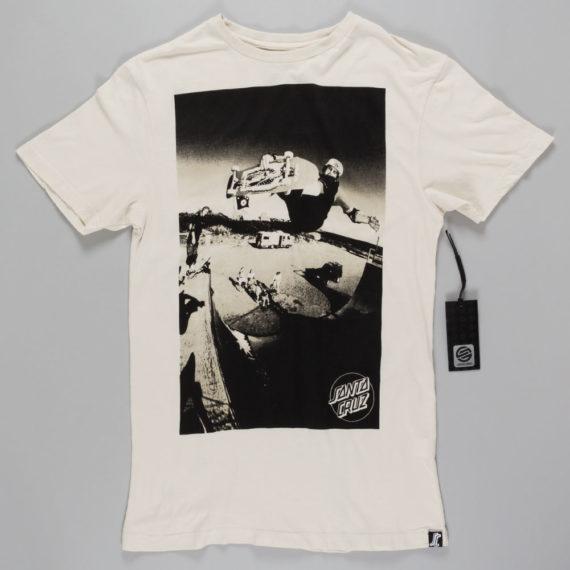 Santa Cruz Jesse Vert T-Shirt Vintage White
