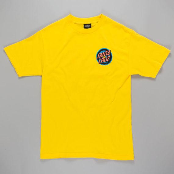 Santa Cruz Rob 3 T-Shirt Yellow