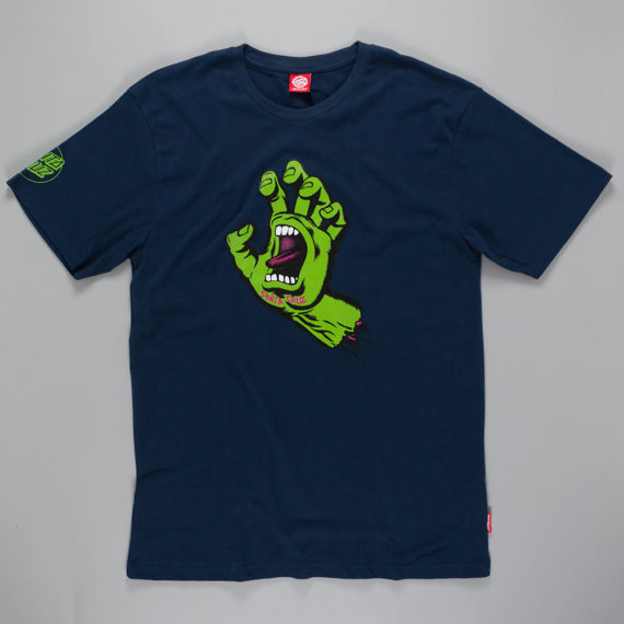 Santa Cruz Screaming Hand T-Shirt Indigo