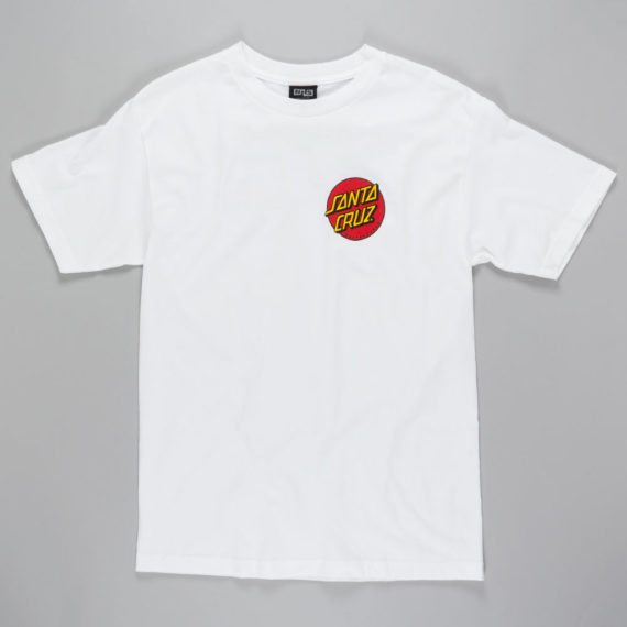 Santa Cruz Slasher T-Shirt White