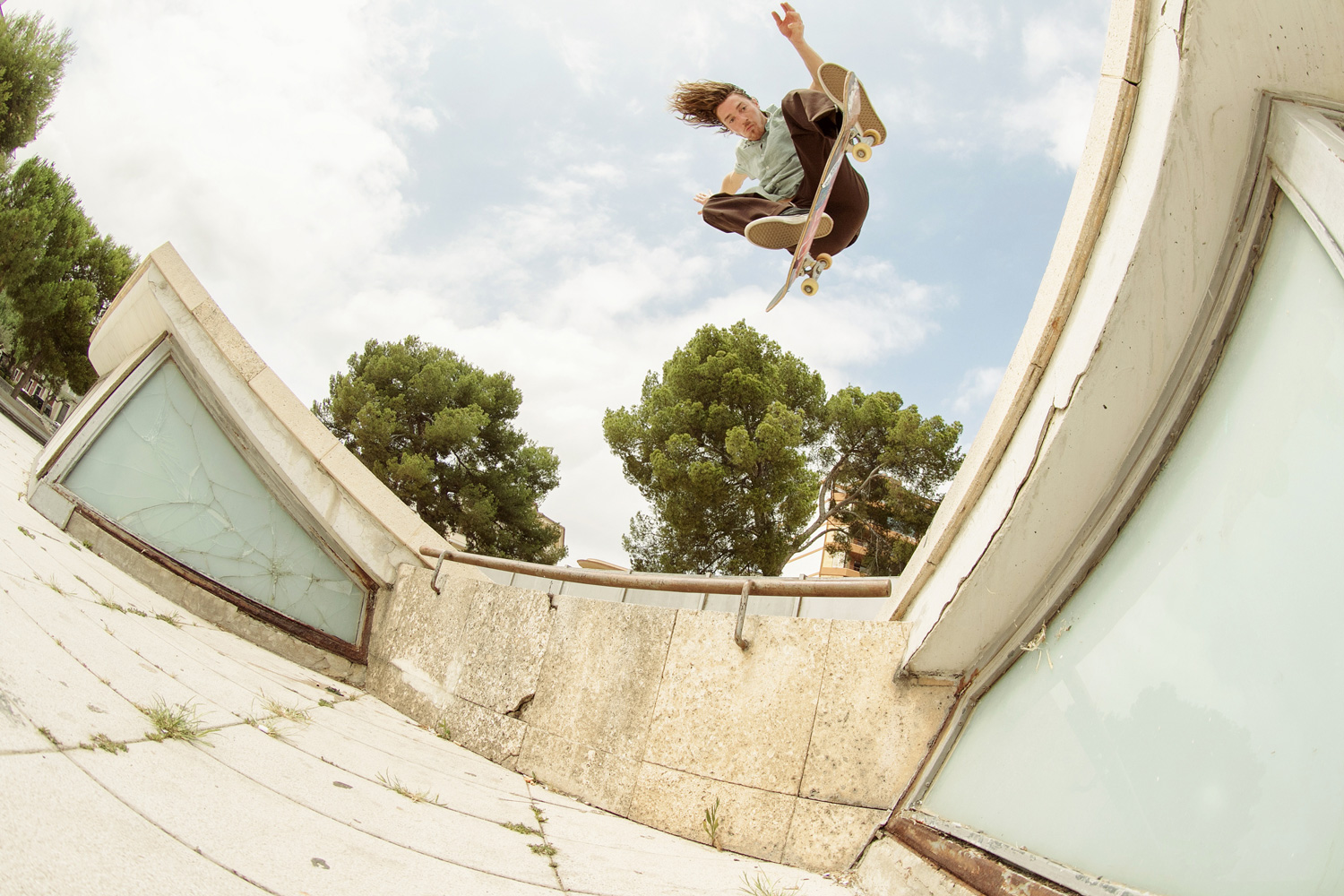 Skate Pharm Team Members Hit Mallorca