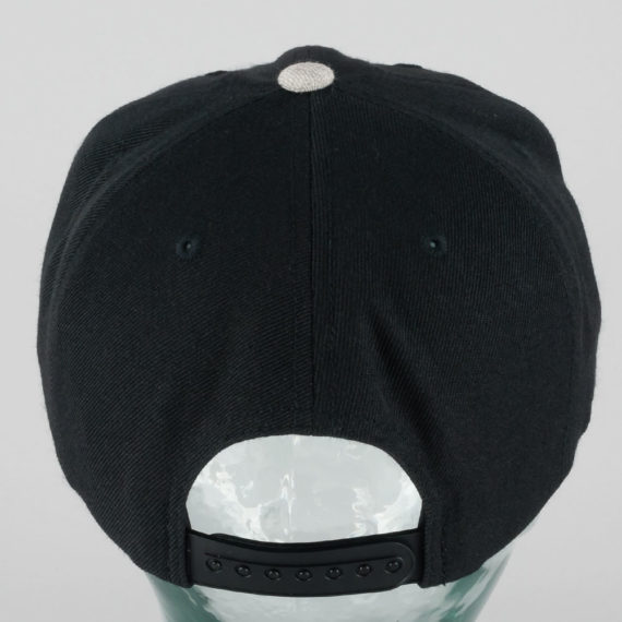 Brixton Woodburn Snapback Cap Black