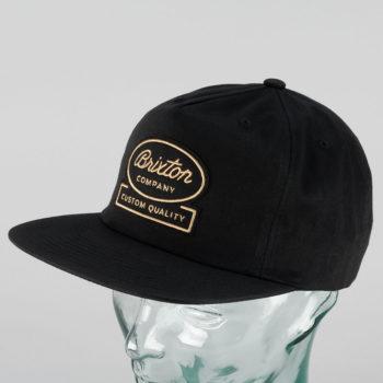 Brixton Dale Snapback Cap Black