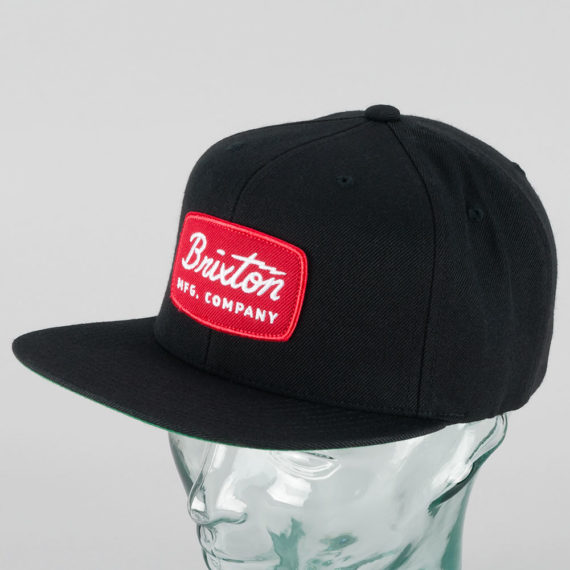 Brixton Jolt Snapback Cap Black