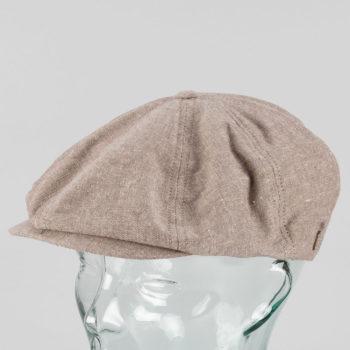 Brixton Brood Flatcap Hat Light Brown