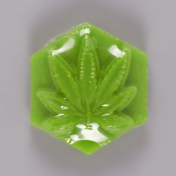Ganj Wax Large Fluorescent Green Skateboard Wax