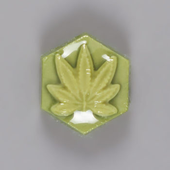 Ganj Wax Small Luminous Green Skateboard Wax