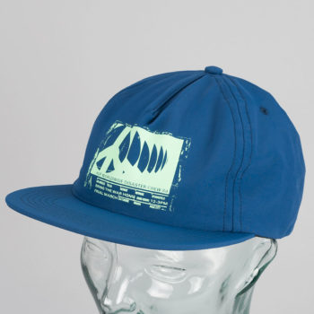 Huf Riot Snapback Hat Navy
