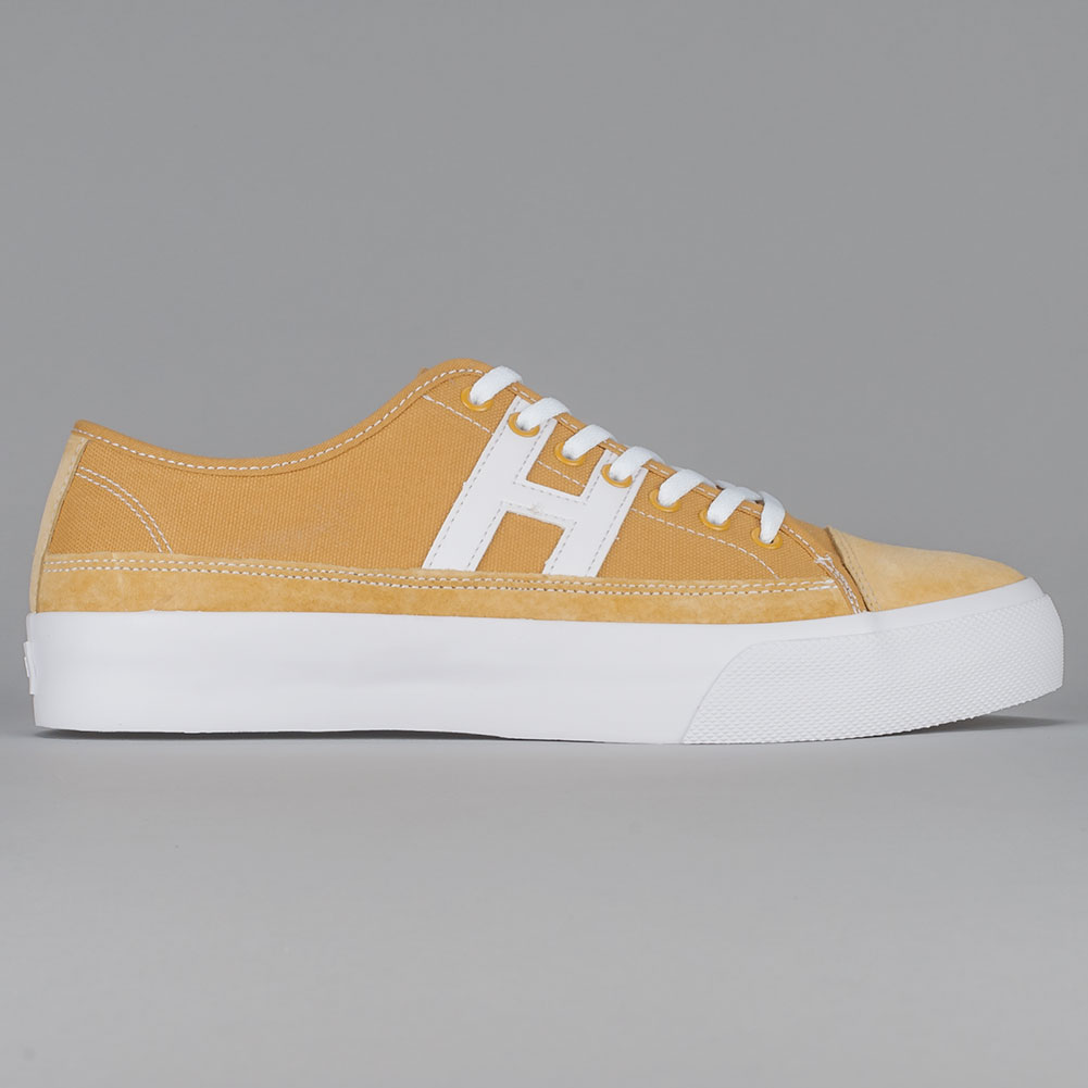 69eea3098b5 Home   Shop   Footwear   Skate Shoes   Low Tops   Huf Hupper 2 Lo Shoes  Mustard