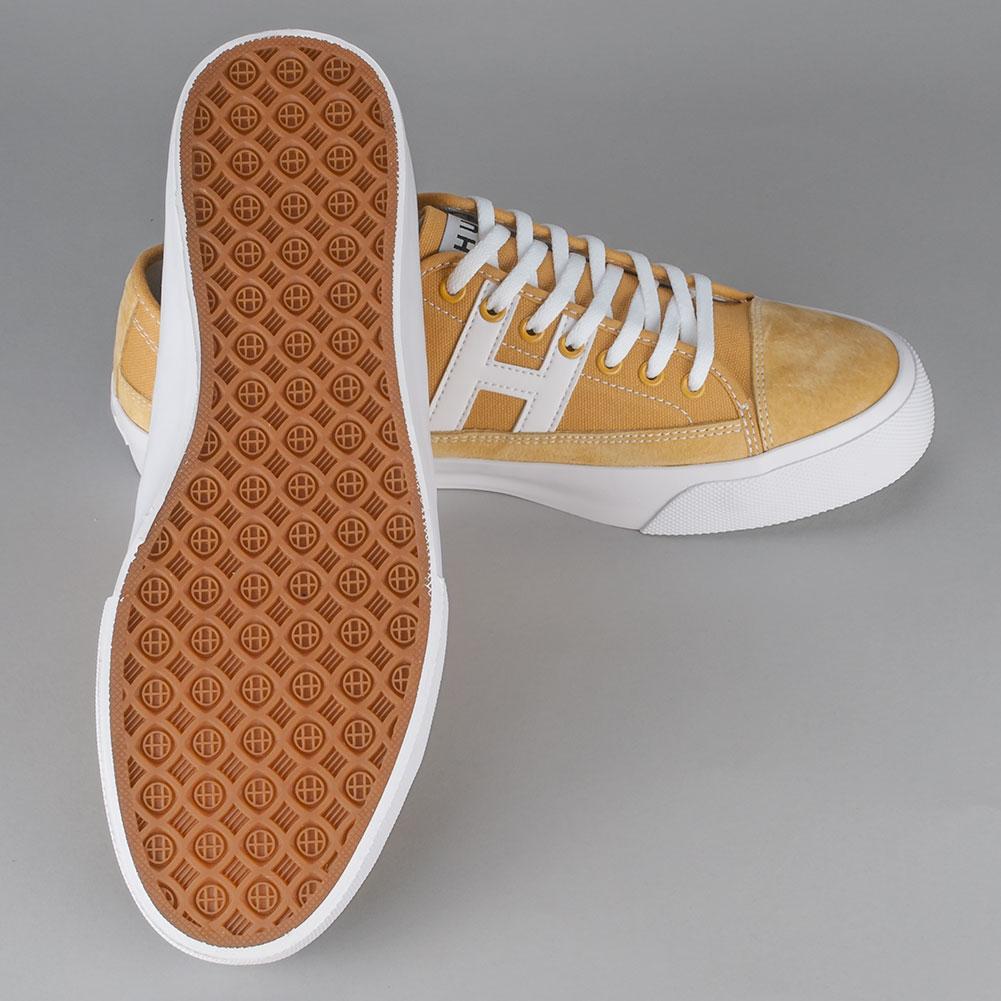 7a53e36fc2c7 Huf Hupper 2 Lo Shoes Mustard Avaialble at Skate Pharm