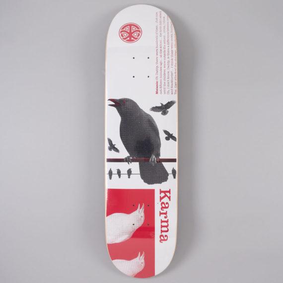 "Karma Cult Film Series Birds Deck 8.125"""