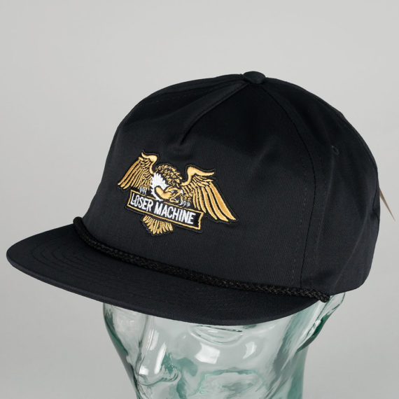 Loser Machine Archer Hat Black