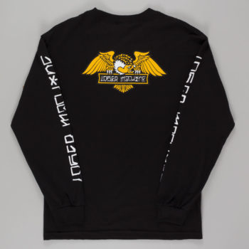 Loser Machine Alleyway Long Sleeve T-Shirt Black