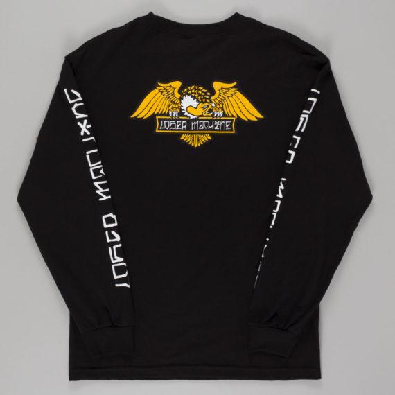 Loser Machine Alleyway Long Sleeve T-Shirt Black