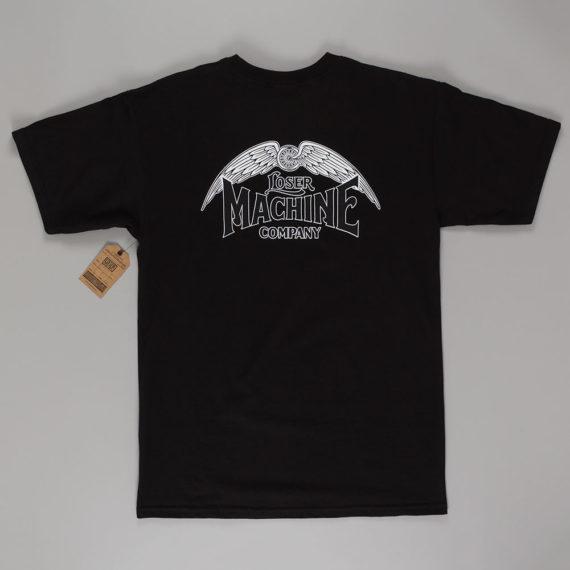 Loser Machine Wingspan T-Shirt Black