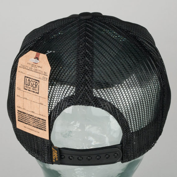 Loser Machine Interlock Hat Black