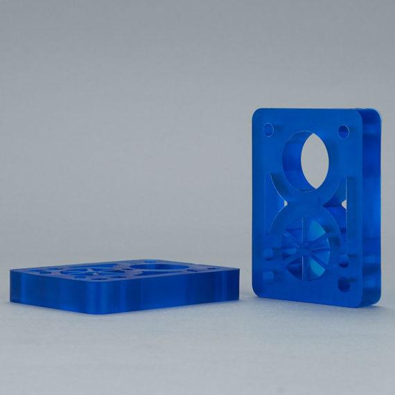 D Street Risers Clear Blue 1/2