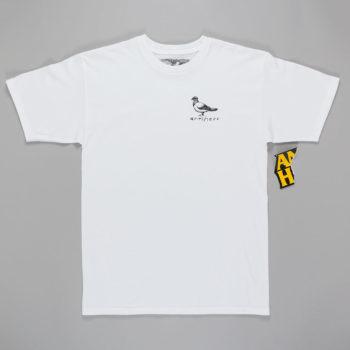 Anti Hero Pigeon Pocket T-Shirt White