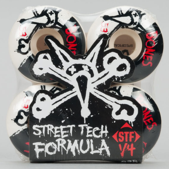 Bones STF V4 White 53mm Wheels