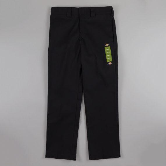 Dickies Slim Straight Leg Work Pant Black