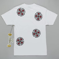 Independent Trucks Cross Bar T-Shirt White