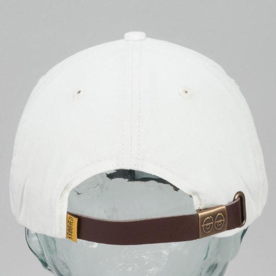 Krooked Skateboards Shmolo Snapback Hat Off White