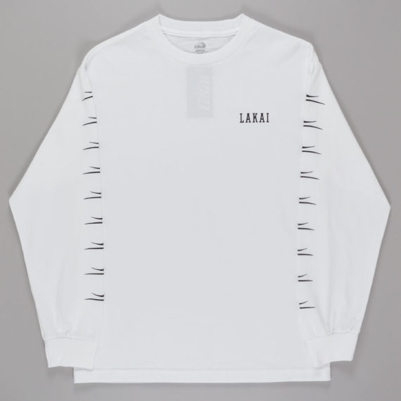 Lakai Flared Long Sleeve T-Shirt White