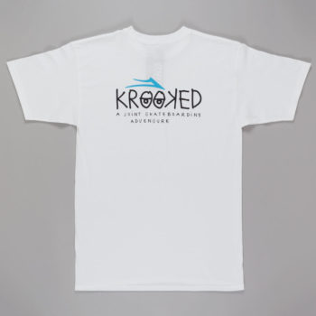 Lakai X Krooked T-Shirt White