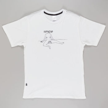 Rip'N'Dip Clothing V-Spot T-Shirt White