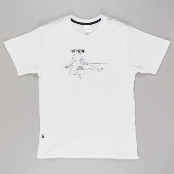 Rip'N'Dip Clothing V-Spot T-Shirt White