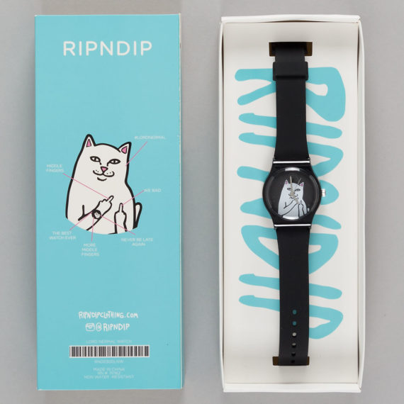 Rip'N'Dip Lord Nermal Watch Black