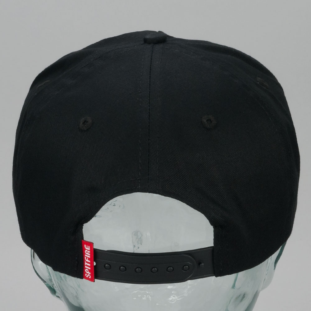 3f6184e0c3b Buy Spitfire OG Classic Swirl Snapback Hat Black Available at Skate ...